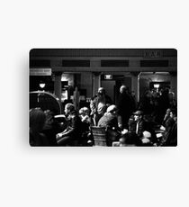 In the bar Canvas Print