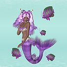 Lilac Mermaid  by LoneAngel