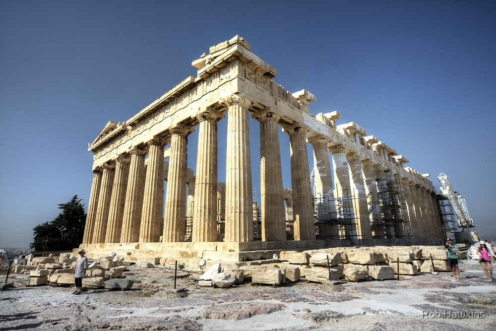 The Parthenon  by Rob Hawkins