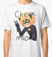 Check Meowt! Cat Noir Classic T-Shirt