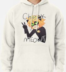 Check Meowt! Cat Noir Pullover Hoodie