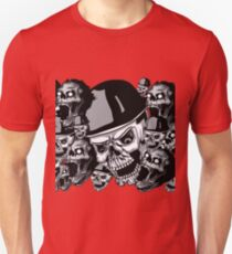 Zombies in black and white collage T-Shirt
