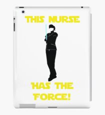Nurse with the Force iPad Case/Skin
