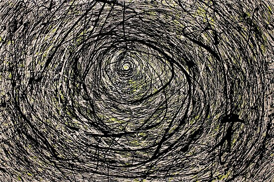 Quot Abstract Jackson Pollock Painting Titled Rabbit Hole