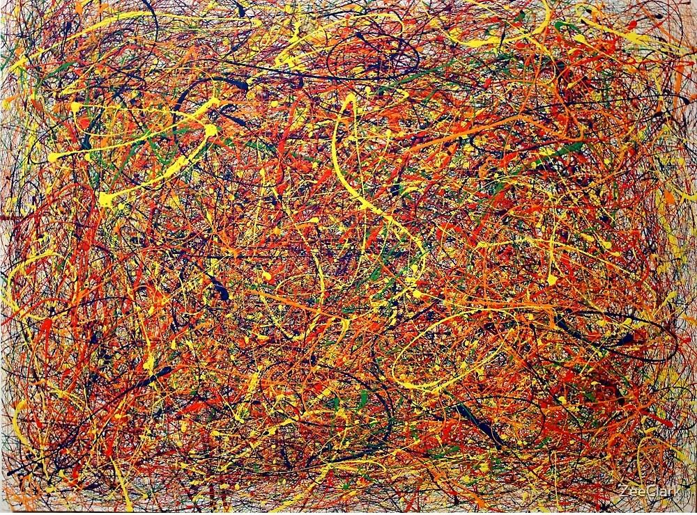 Jackson pollock painting analysis
