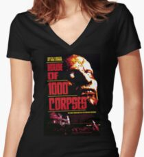 Movie Poster Merchandise Women's Fitted V-Neck T-Shirt