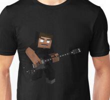 Minecraft Herobrine Rock Unisex T-Shirt
