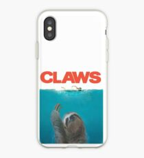 Sloth Claws Parody iPhone Case