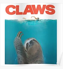 Sloth Claws Parody Poster