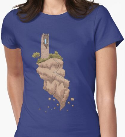 Floating Tower Island Begin Again T-Shirt
