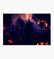 I found it burning like a sin Photographic Print