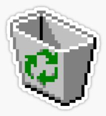 Recycle bin Icon Sticker