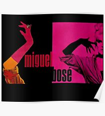 miguel bosè in high heels Poster
