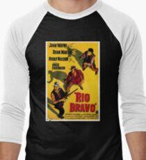 Camiseta ¾ bicolor para hombre Mercancía del cartel de la película