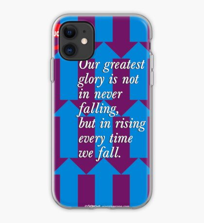 Confucius Inspirational Quote iPhone Case