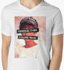 Repping ends and killing trends Men's V-Neck T-Shirt
