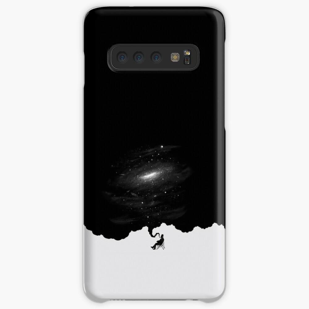 GALAXY RAUCH - GEDANKEN Hülle & Klebefolie für Samsung Galaxy