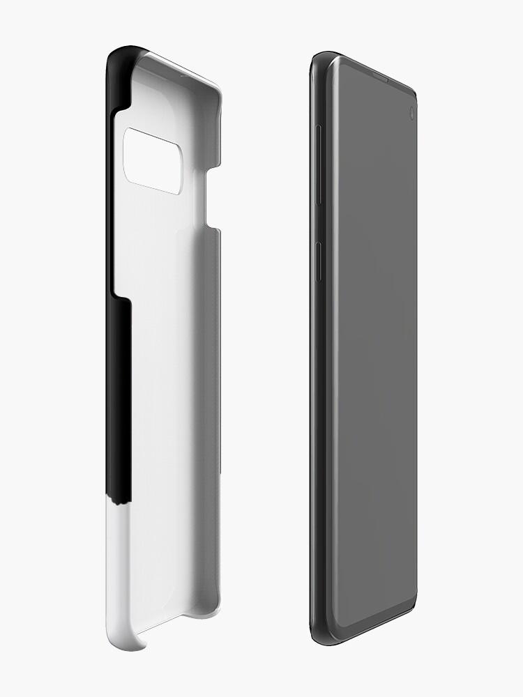 Alternative Ansicht von GALAXY RAUCH - GEDANKEN Hülle & Klebefolie für Samsung Galaxy