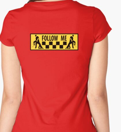 follow me dancer Women's Fitted Scoop T-Shirt