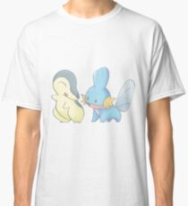 Cyndaquil and Mudkip Classic T-Shirt