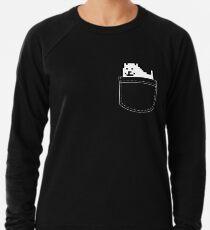 Undertale Dog Pocket Tee Lightweight Sweatshirt