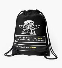 Undertale Sans Drawstring Bag