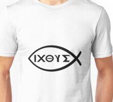 GREEK JESUS FISH SYMBOL Unisex T-Shirt