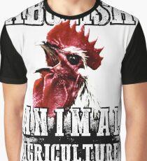 Abolish Animal Agriculture Graphic T-Shirt