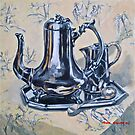 2015 calendar of still life.  by Elizabeth Moore Golding