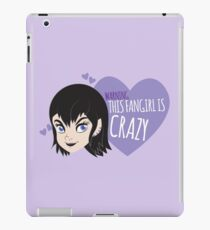 WARNING this fangirl is CRAZY with cute Disney punk girl  iPad Case/Skin