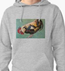Rooster Inis Mor Ireland 2012Ⓒ Pullover Hoodie