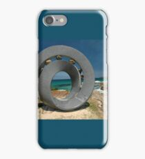 Spiral 2 @ Sculptures By The Sea, 2011 iPhone Case/Skin