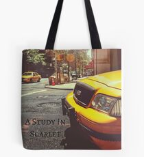 Sherlock Holmes- A Study In Scarlet Tote Bag