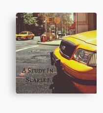 Sherlock Holmes- A Study In Scarlet Canvas Print