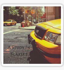 Sherlock Holmes- A Study In Scarlet Sticker