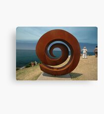 Spiral @ Sculptures By The Sea, 2011 Canvas Print