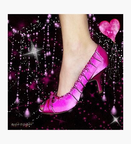I Love My Pink Shoes!! (Views: 16062 - Features: 22) Photographic Print