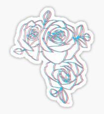 Halsey Roses Sticker