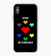 Stay Determined! iPhone Case