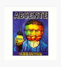 Van Gogh Absinthe Poster Art Print