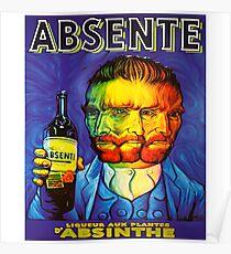 Van Gogh Absinthe Poster Poster