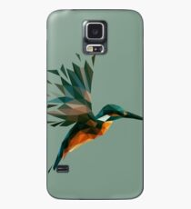 Low Poly Kingfisher Case/Skin for Samsung Galaxy