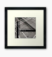 Sherlock- Mind Palace Directions Framed Print