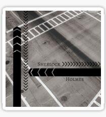 Sherlock- Mind Palace Directions Sticker