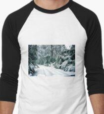 Snowy road, Marysville, Victoria, Australia T-Shirt