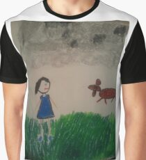 oil pastel drawing Graphic T-Shirt