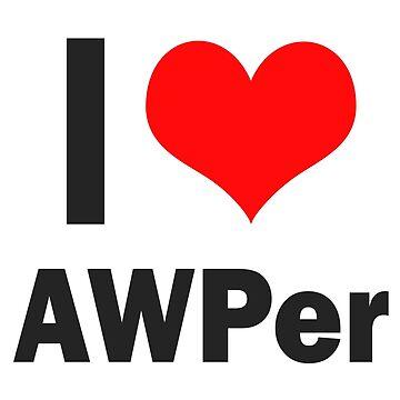AWPer Love - Mug by DonPastera