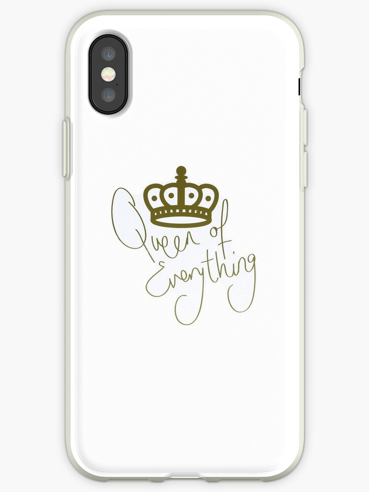 new styles 443a5 b0a6a 'Queen of Everything' iPhone Case by Ambriella