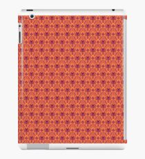 The Haunted Mansion Wallpaper - Orange/Red iPad Case/Skin