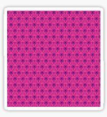 The Haunted Mansion Wallpaper - Pink/Violet Sticker